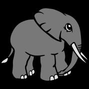 elefant kopf gesicht gemalt t shirt spreadshirt. Black Bedroom Furniture Sets. Home Design Ideas
